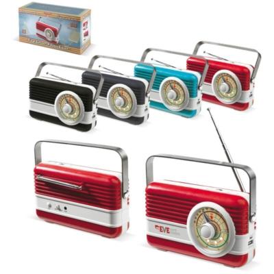 Vapaa-aika - FM-radio, kaiutin ja virtalähde