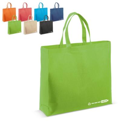 Kassit ja laukut omalla logolla - Kierrätetyistä PET-juomapulloista valmistettu ostoskassi