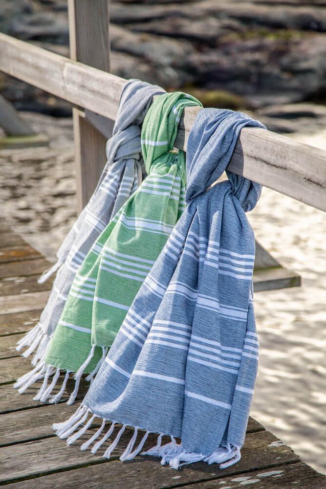 Vapaa-aika - Pehmeä , kevyt ja nopeasti kuivuva pyyhe
