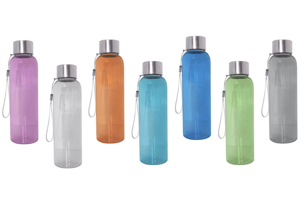 Mainos- ja promotuotteet - Tyylikäs vesipullo raikkaissa väreissä