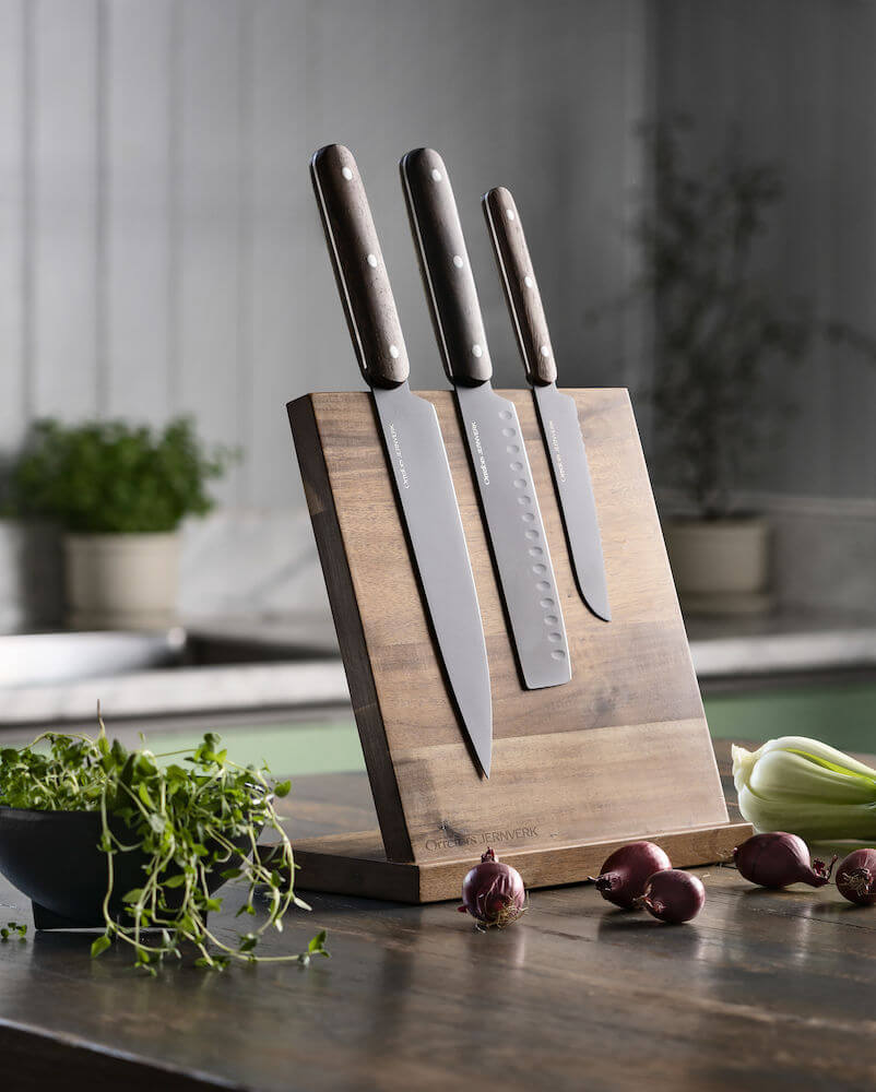 Koti ja keittiö - Tyylikäs magneetilla varustettu telinen