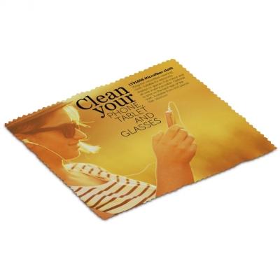 Mainos- ja promotuotteet - Yksittäin pakattu mikrokuituliina