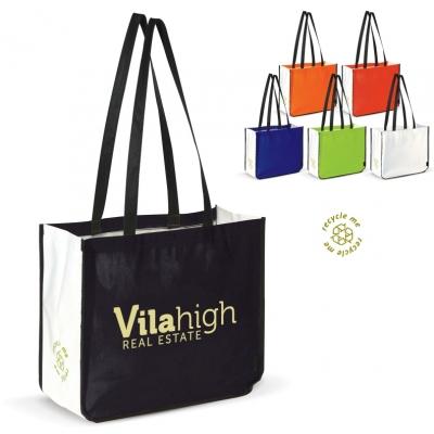 Kassit ja laukut omalla logolla - Iso kestävä ostoskassi
