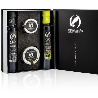 Valmiit lahjapakkaukset - Oro Bailen laadukaat ja maisuvat oliiviöljyt.