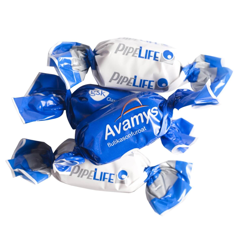 Suklaa käärepaperissa