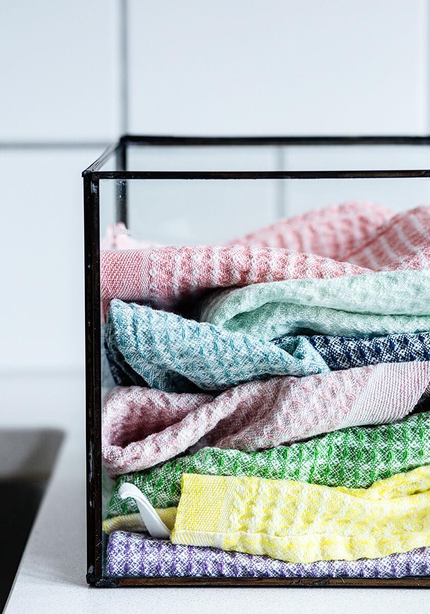 Koti ja keittiö - Värikkäät ja laadukkaat tiskirätit