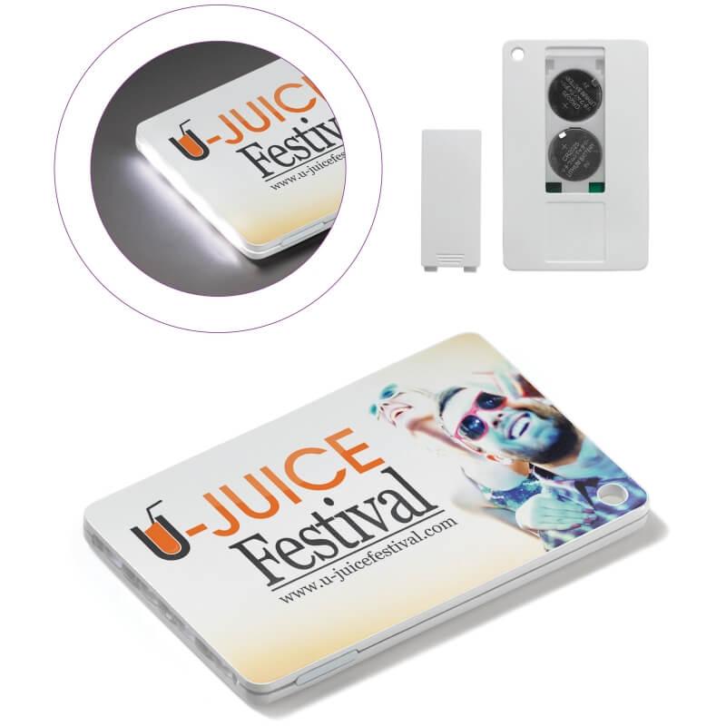 Mainos- ja promotuotteet - Luottokorttitaskulmppu