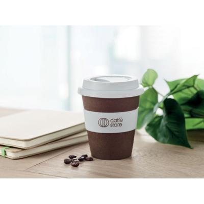 Vapaa-aika - Valmistettu kahvinpavun kuorista ja polypropeenista.