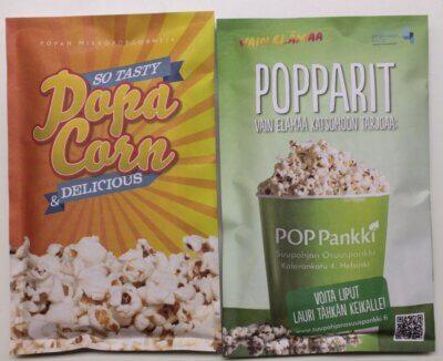 Mainos popcornpussi