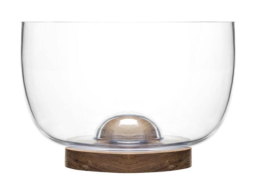 Koti ja keittiö - Oak tarjoilukulho, tammea/lasia
