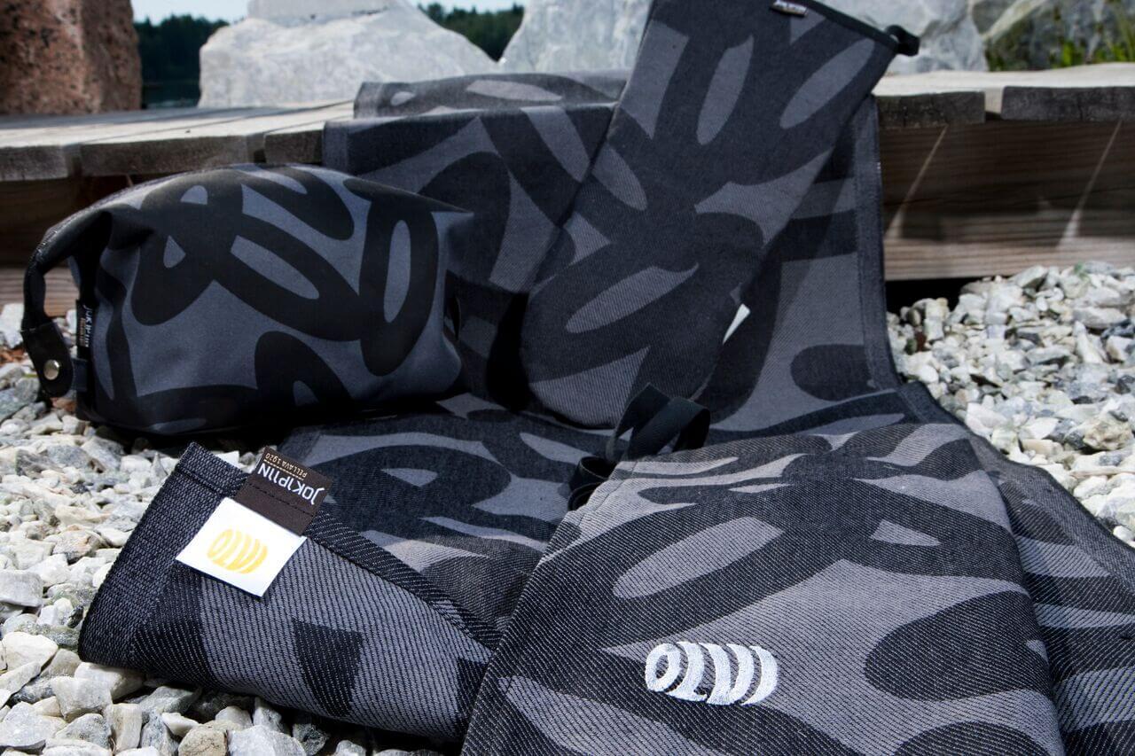 Omadesign-tekstiilit - Keittiöliina pellavapuuvillaa