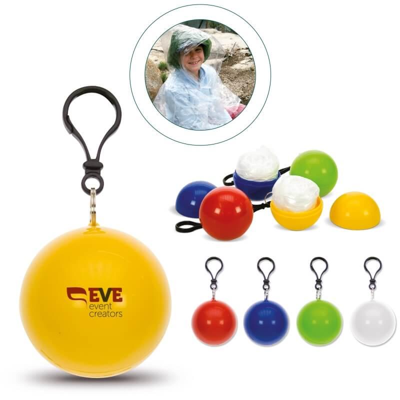 Mainos- ja promotuotteet - Pallo jonka sisällä sadeviitta