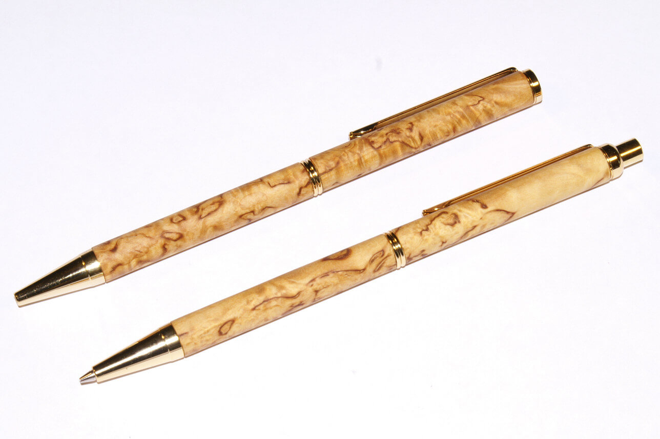 Visakoivu ballograft kynä