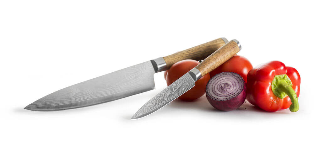 Koti ja keittiö - Kahden veitsen lahjasetti